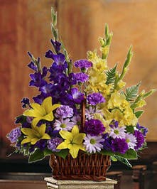 Vibrantly hued lilies, daisies, gladiolus and more