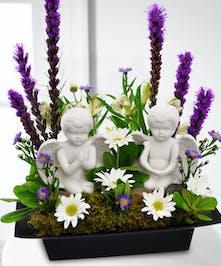 An angelic arrangement