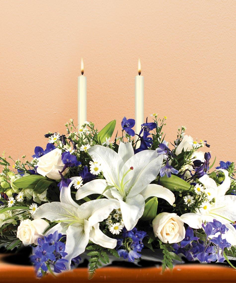 Hanukkah Lights Centerpiece Celebrate The Festival Of Lights With
