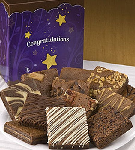 Congratulations greeting card for Brownie Day 16