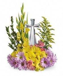 Easter Crystal Cross