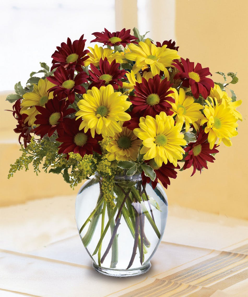 Fall for daisies autumn floral arrangements beneva flowers a simply lovely gift for any special occasion izmirmasajfo