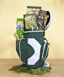 A fun golf gift of gourmet treats!