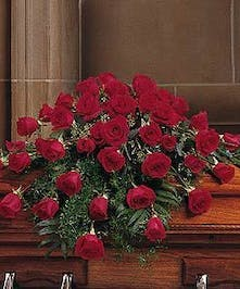 Comprised of 48 vibrant, fragrant red Roses