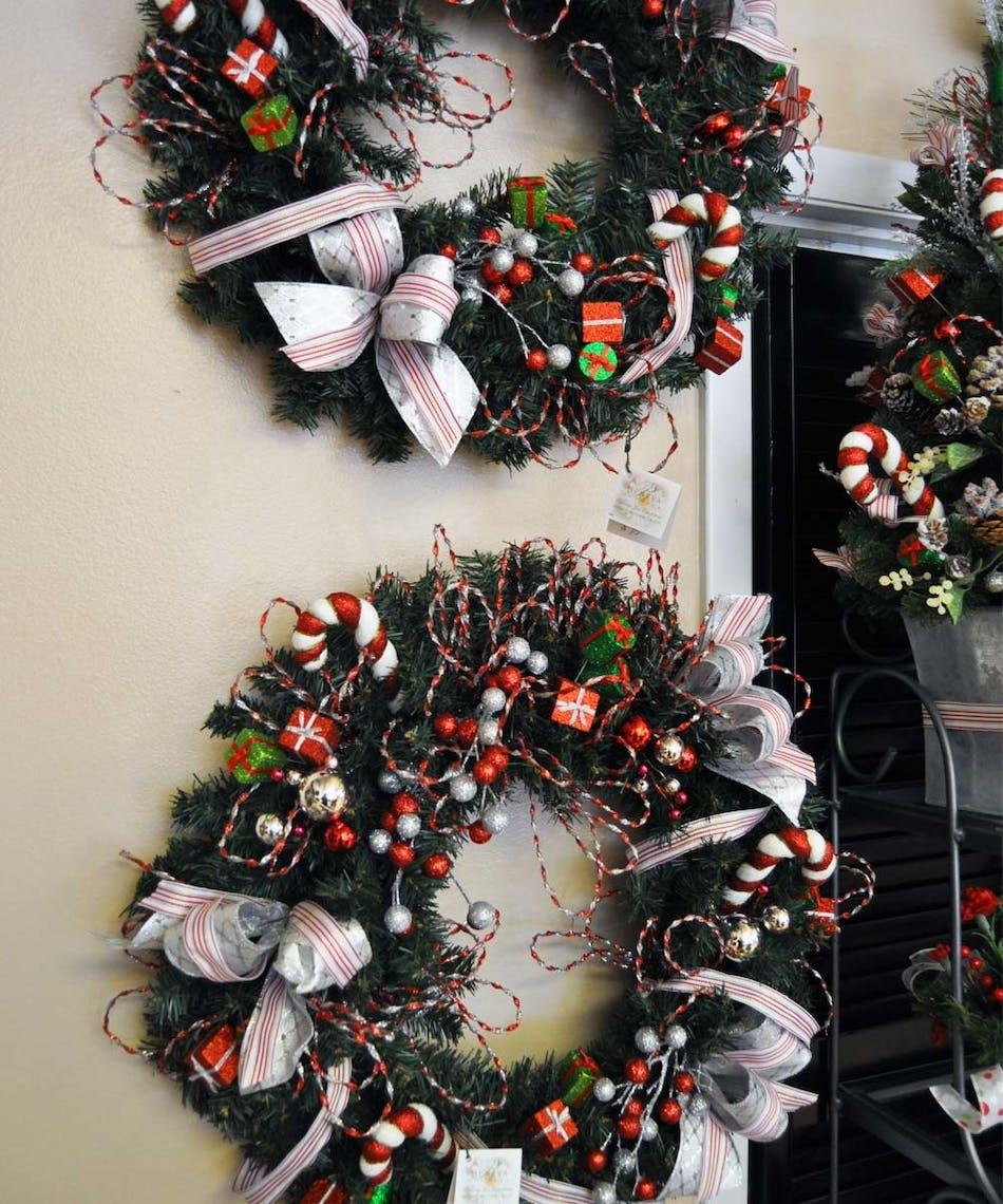 Seasonal Silk Wreath At Beneva