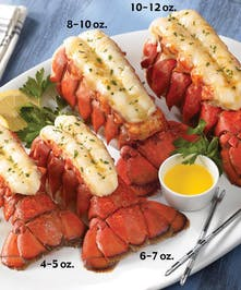 Four 6-7 oz. Maine Lobster Tails