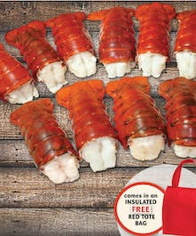 Shower the lobster lover in your life with the ultimate gift of a TON of sweet Maine lobster tails!