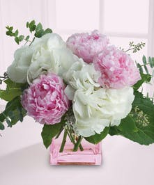 Peonies are highly seasonal... don't miss your chance to make a beautiful impression!