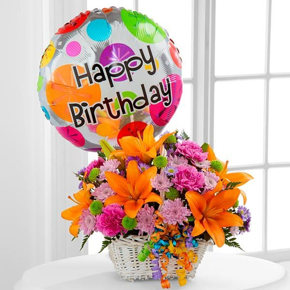 Birthday flowers gifts sarasota florist flower delivery beneva happy blooms basket izmirmasajfo