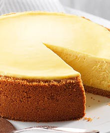 Delicious New York Cheesecake