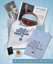 Get your baby boy stylin' with this set of basketball fun!