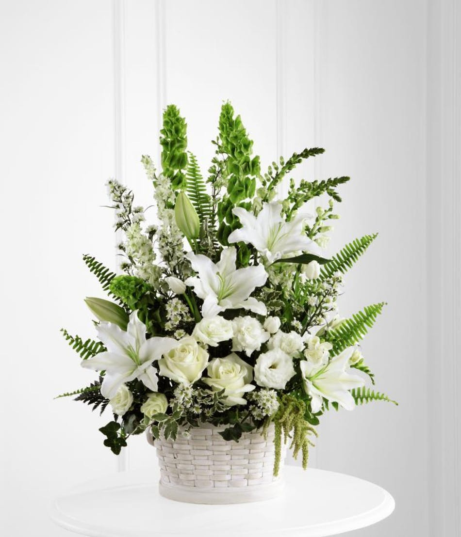 Pure Peace Floral Arrangements Beneva Flowers Sarasota