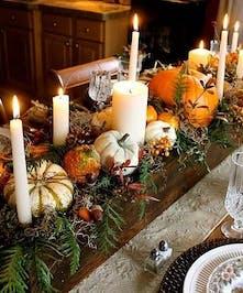 Thanksgiving Tablescape Centerpiece
