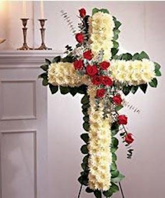 Standing Rose Cross