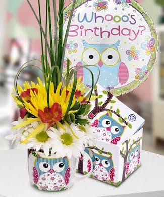 Whooo's Birthday?
