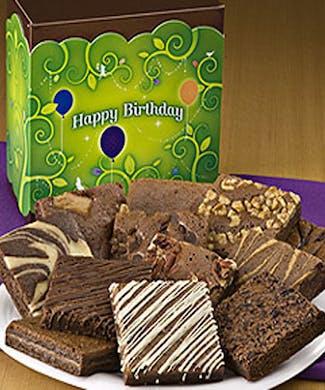 Happy Birthday Brownie Dozen