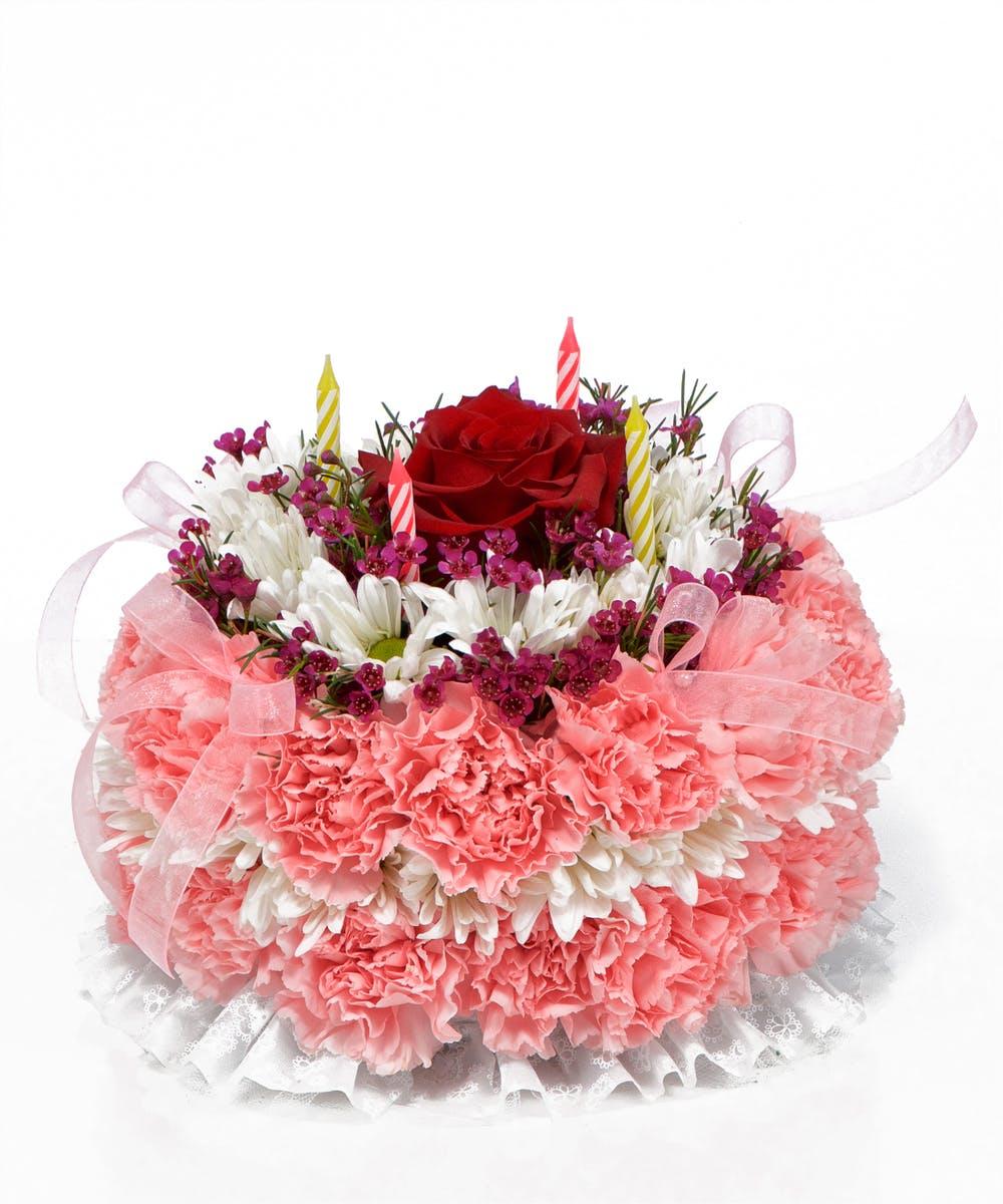Fantastic Flowering Birthday Cake Birthday Flowers Beneva Com Birthday Cards Printable Opercafe Filternl