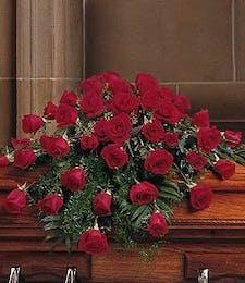 Sympathy Rose Casket
