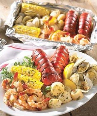 Maine Lobster & Seafood Bake