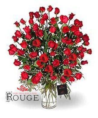 60 Roses in Any Color