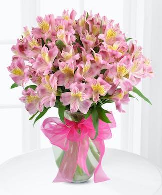 Lily Vase of Alstroemeria