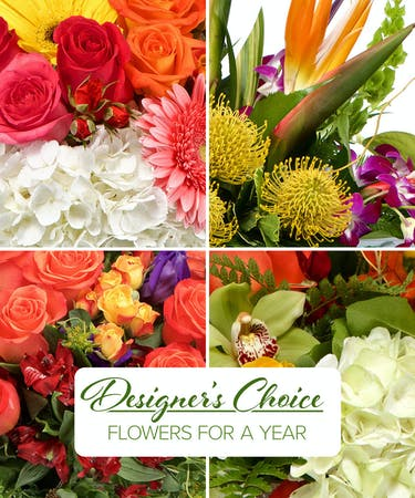 Flowers For A Year Gift Sarasota Florist
